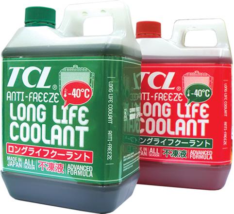 Антифриз TCL – японское качество, проверенное временем!