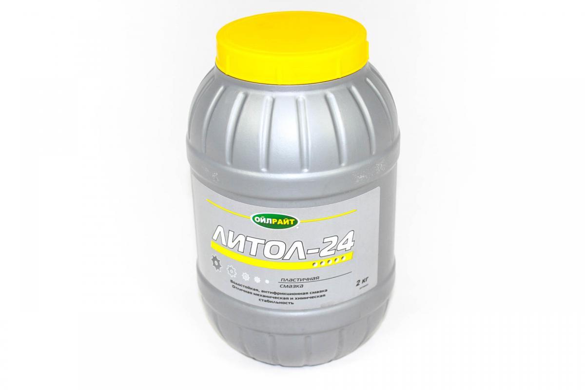 Смазка Литол-24   2кг OilRight