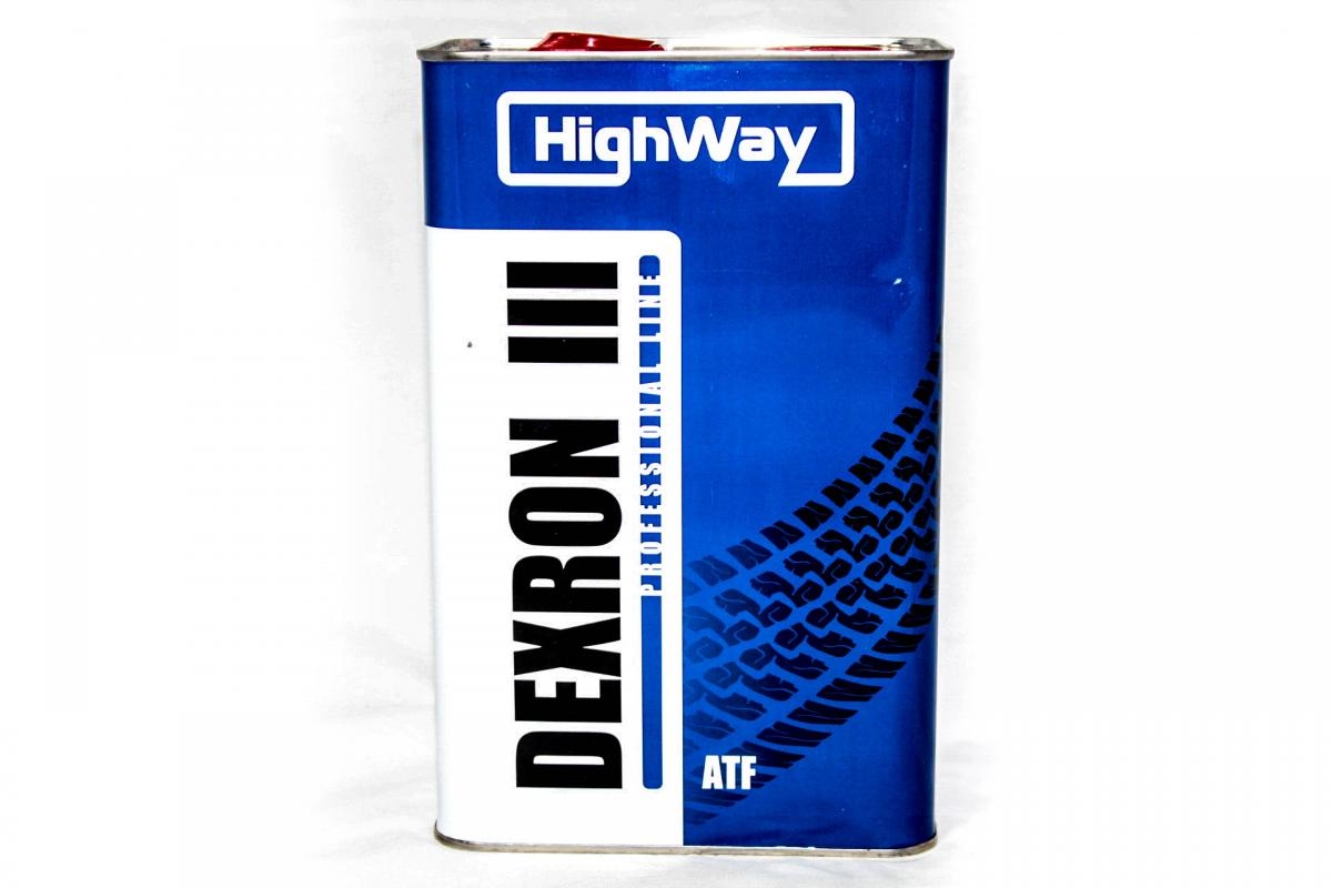 High Way ATF Dexron II  4л Минеральное масло трансмиссионное