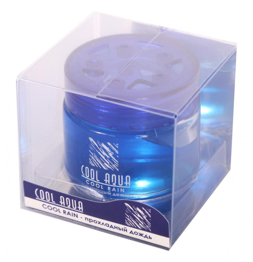"""Ароматизатор воздуха на панель гелевый """"AZARD Cool Aqua"""" CA-14 Прохладный дождь"""