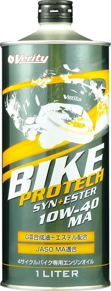 VERITY 4T BIKE  PROTECH SYN+ESTER 10w40 MA 1л