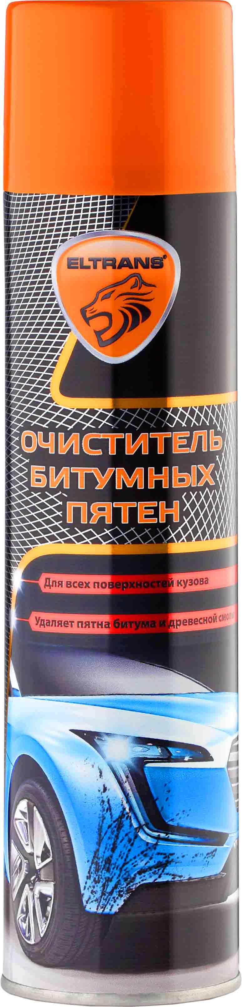 EL-0301.03 Очиститель битумных пятен 400 мл. (аэрозоль)  ELTRANS